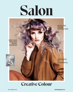Salon Magazine September 2018 Cover