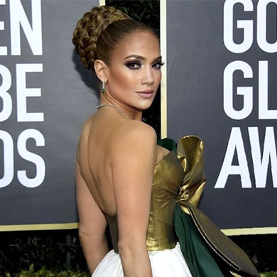 The Best Hair from the 2020 Golden Globes