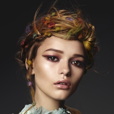 How To: Create this Rainbow Look by Award-Winning Irish Hairdresser Sharon Malcolm