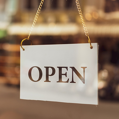 Open-Sign-Feature