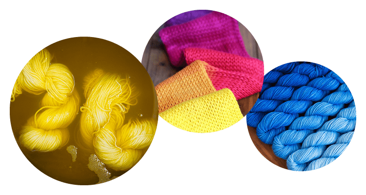 Learn to Hand-Dye Yarns & Fibres