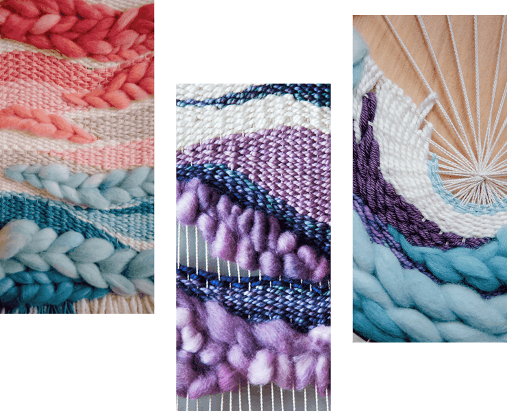 Frame Loom Weaving