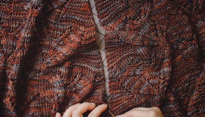 Mattress Seaming for Garter Stitch