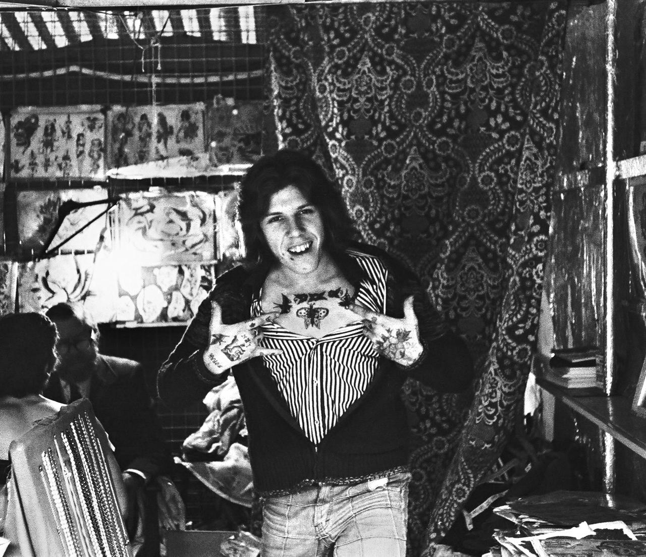 Lou Brzezinski, Tattoo Artist - Piccadilly Circus, 1976