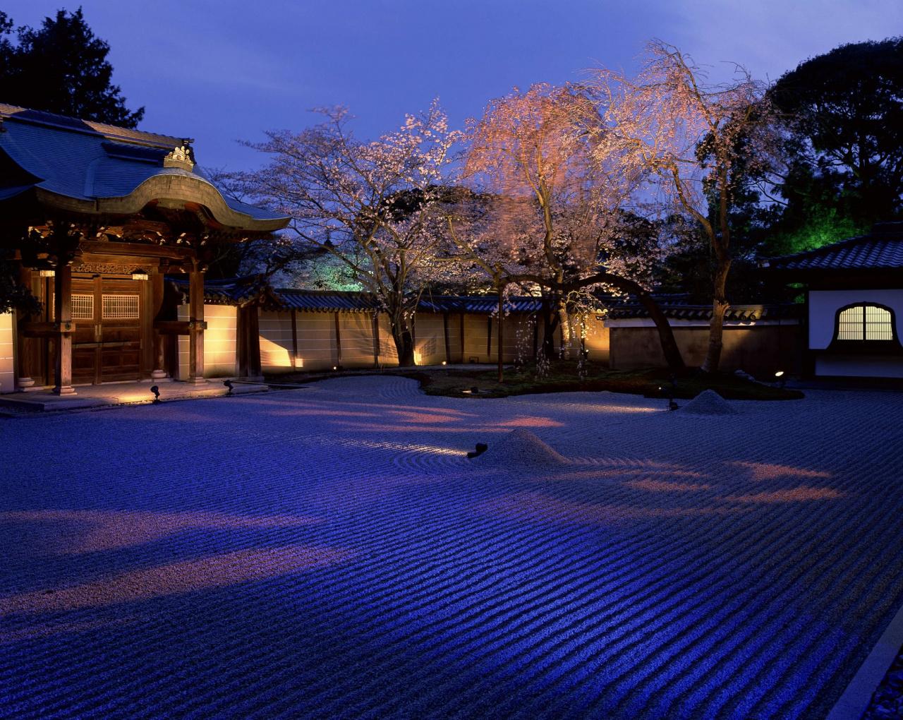 Katsuhiko Mizuno, Spring at Kodaiji Temple, 2006