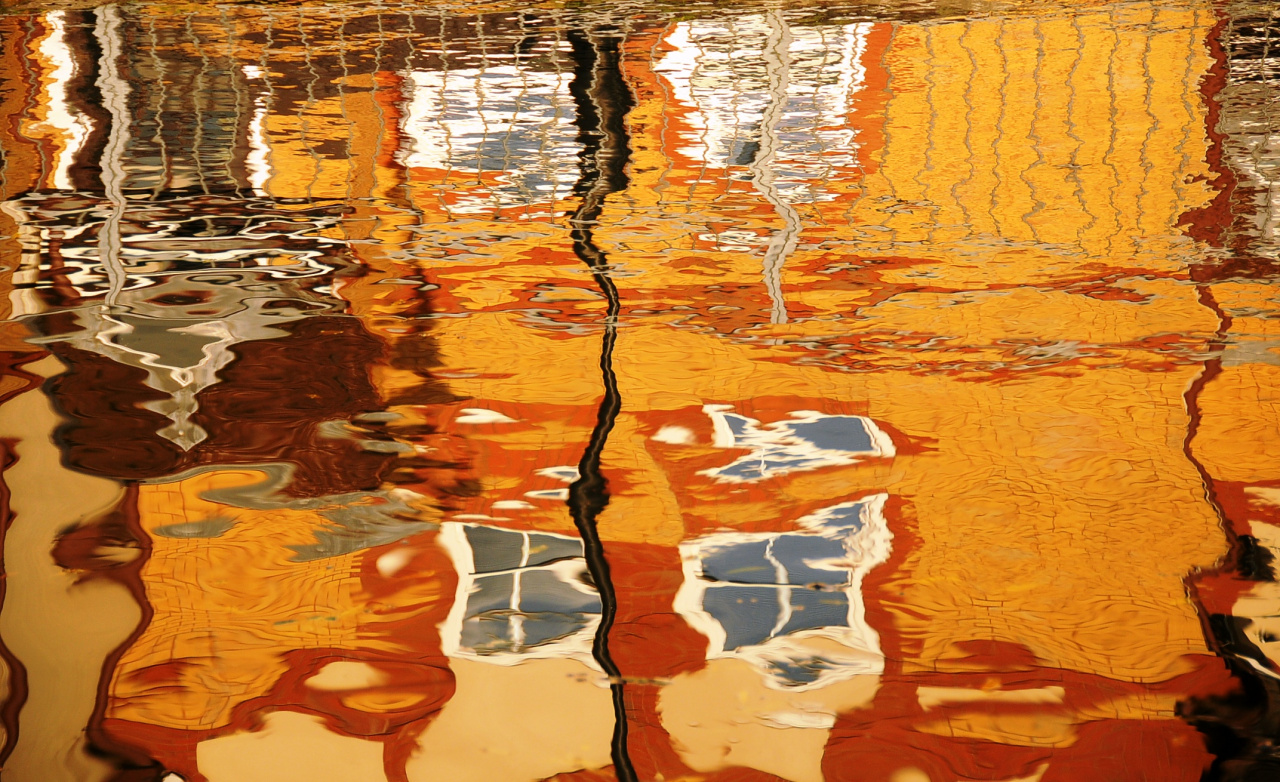 Sue Folinsbee, Thames River, Oxford, 2015