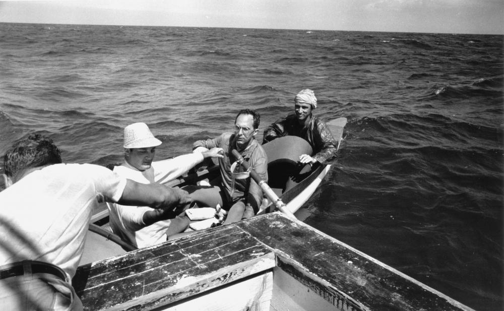 Don Newlands, Trudeau Rowing Cuba, 1960