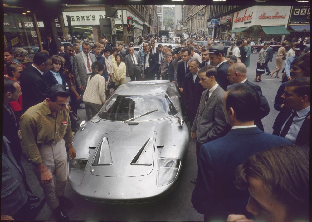 Don Newlands, Hot Car GT40