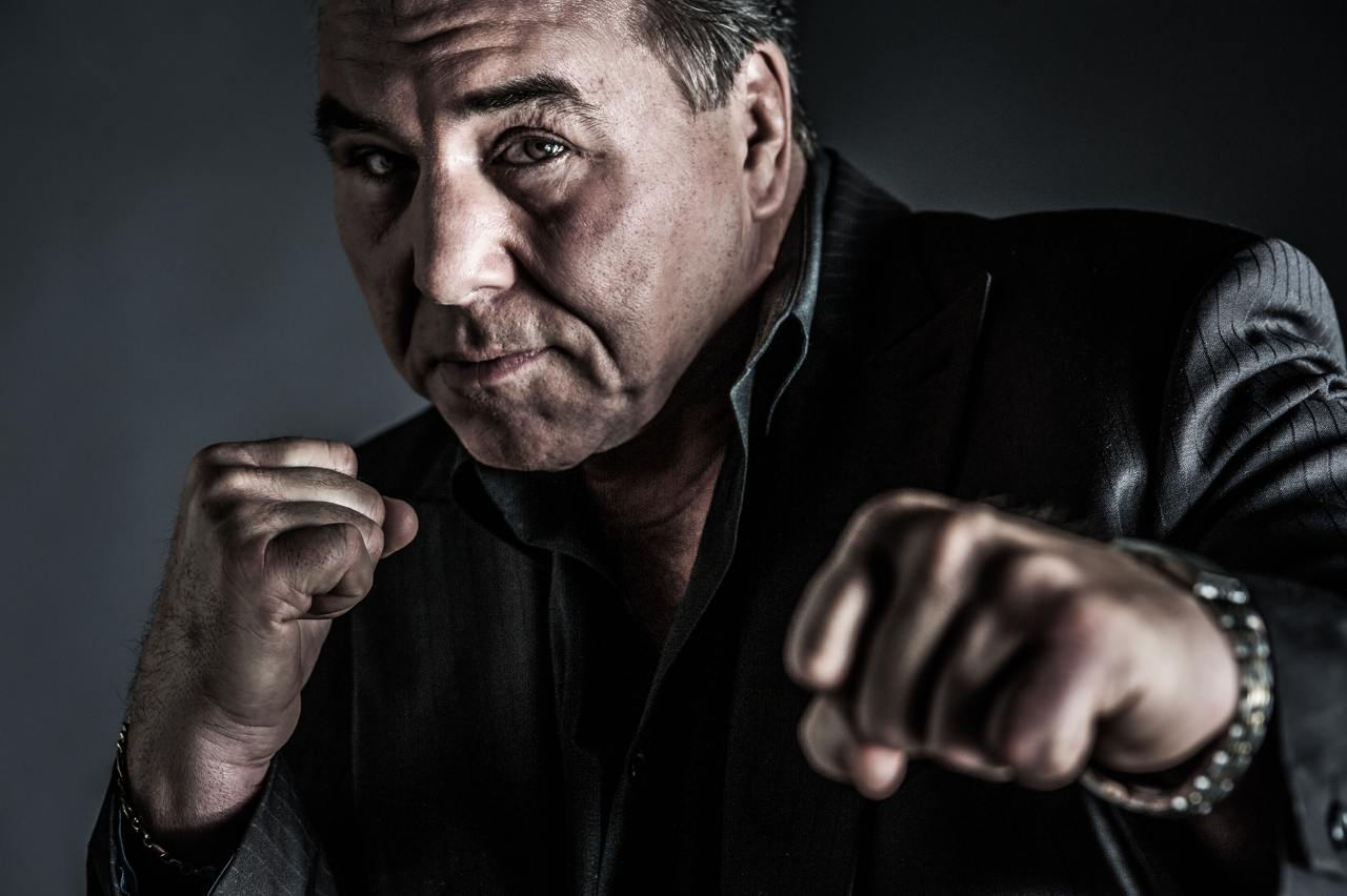 Don Dixon, George Chuvalo, 2018