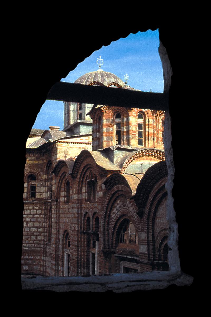 Bozidar Vitas, Hilandar pogled na glavnu crkvu, 1996