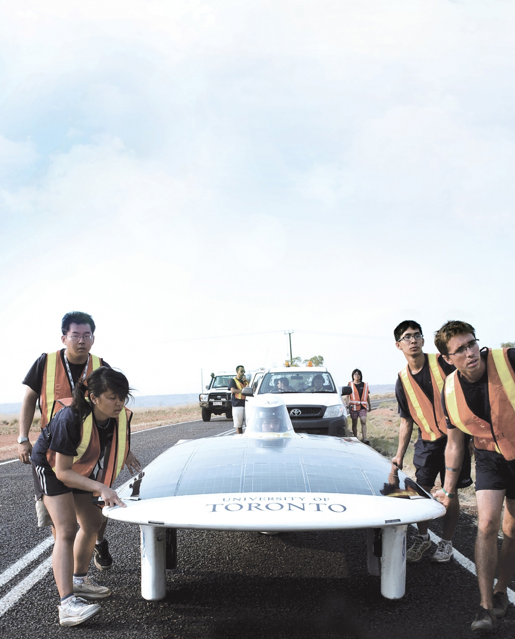 Courtesy of University of Toronto Blue Sky Solar Racing
