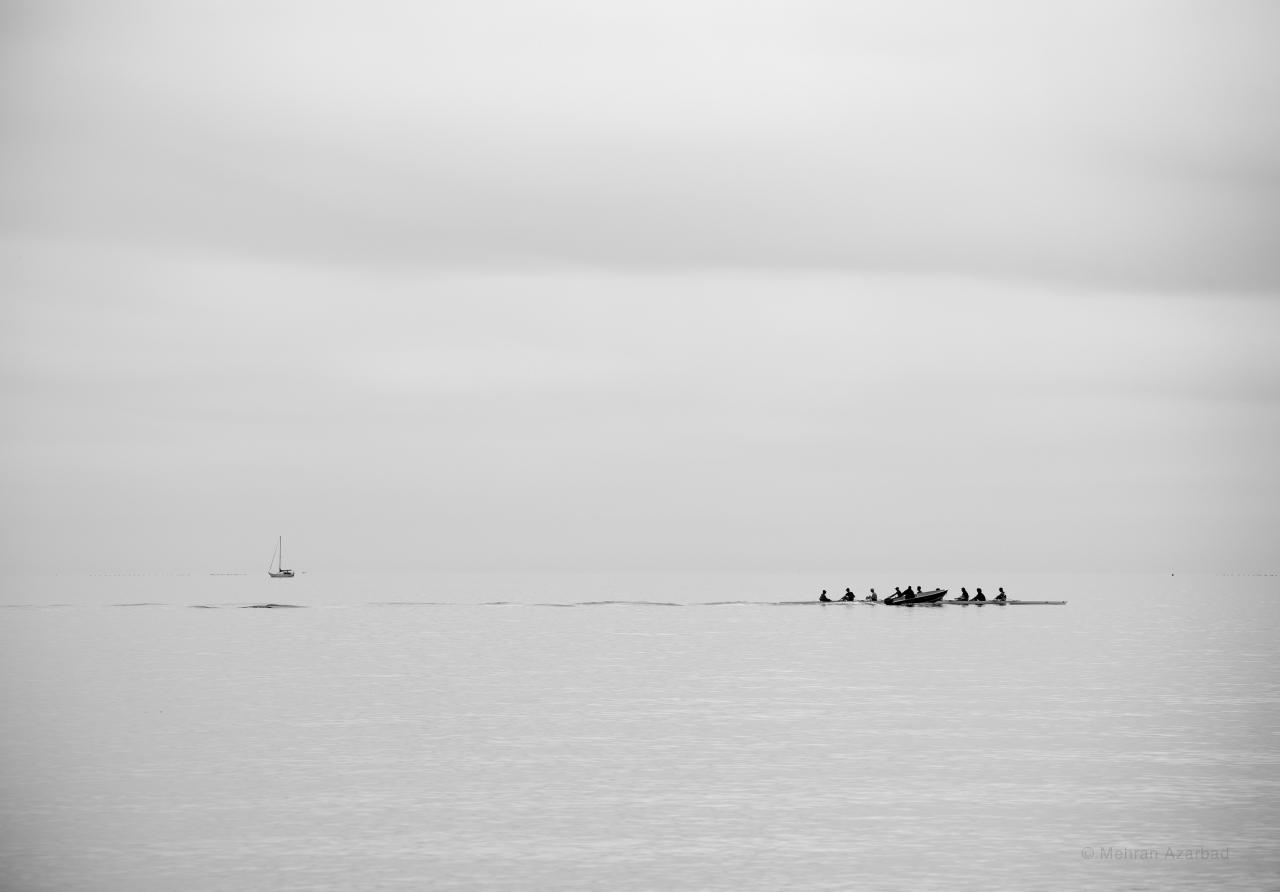 Mehran Azarbad, The Calm Lake, 2018