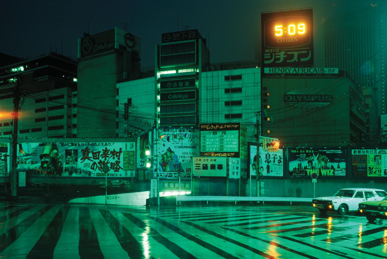 Greg Girard, Tokyo 05:09AM, 1976. Archival pigment print, 24 x 36.