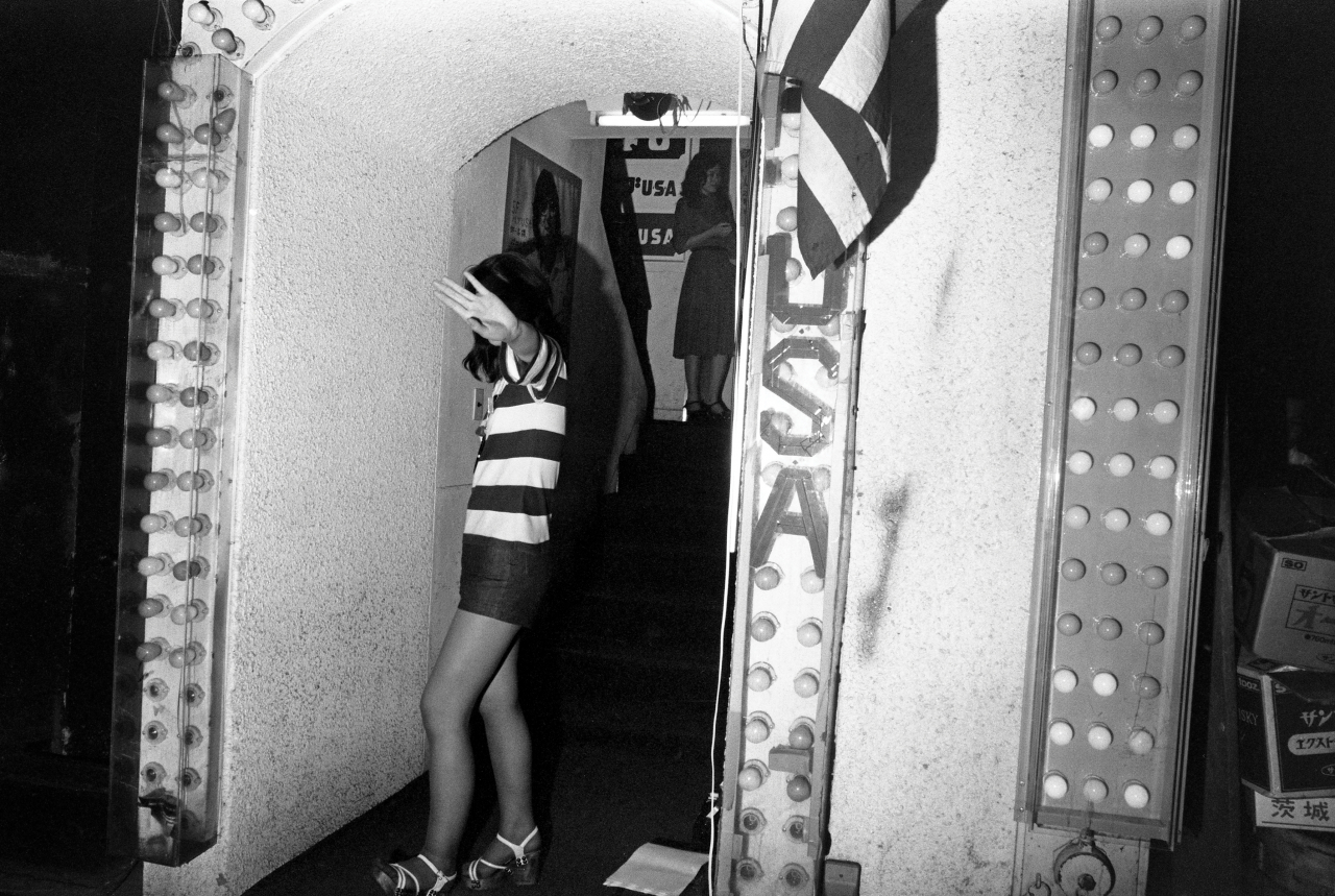 Greg Girard, Club USA, Kabuki-cho, Tokyo, 1976. Archival pigment print, 24 x 36.