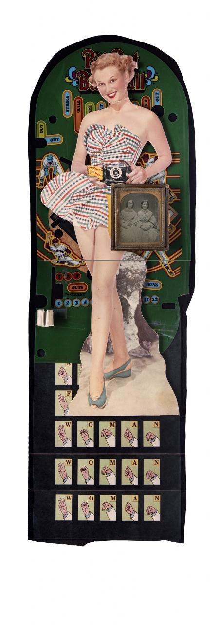 Douglas Clark, Tintype and Game, 1987.