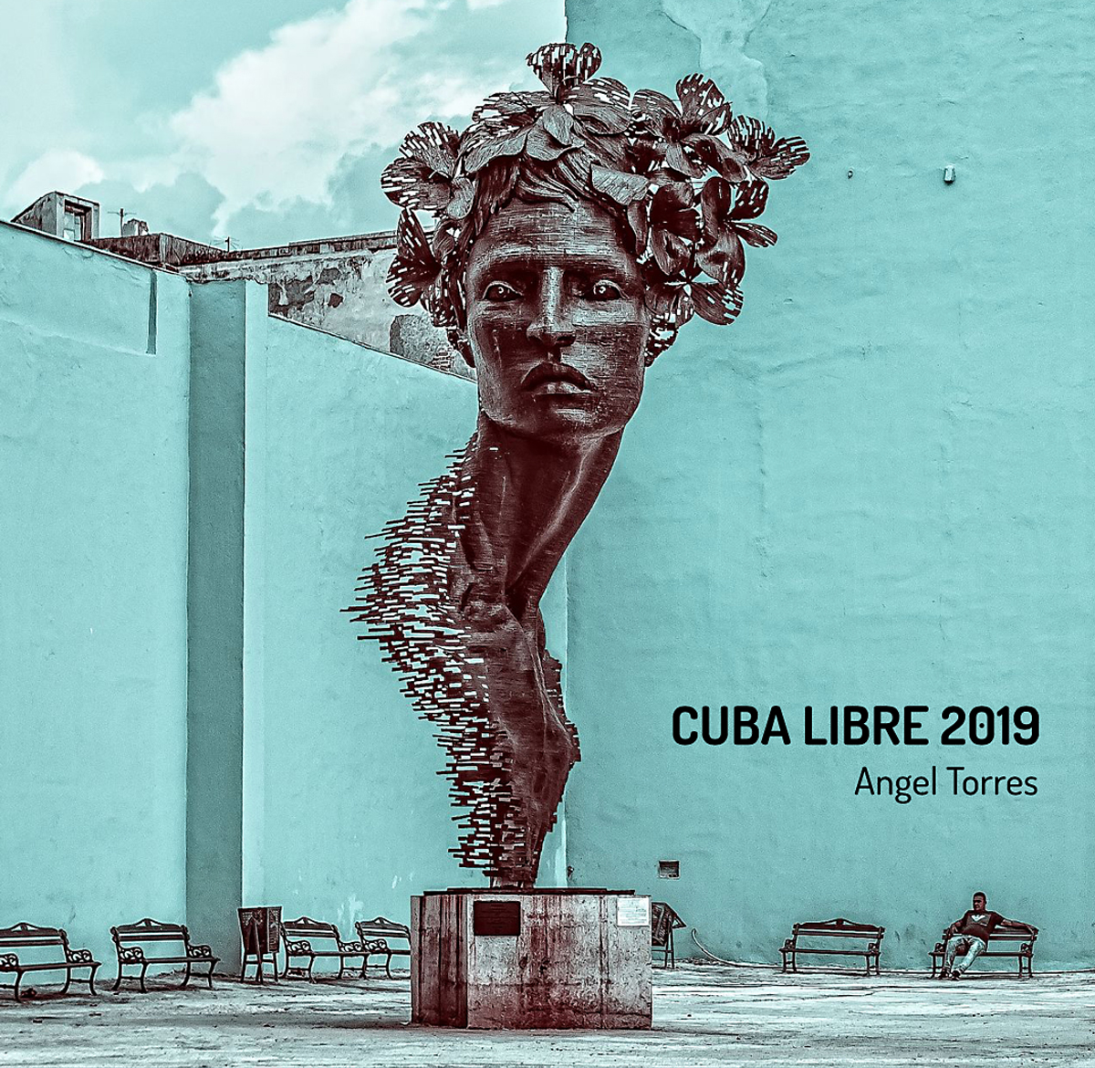 "Angel Torres, Cuba Libre 2019, 40pg book available to accompany the exhibition with a greater selection of images, 10 x 10""."