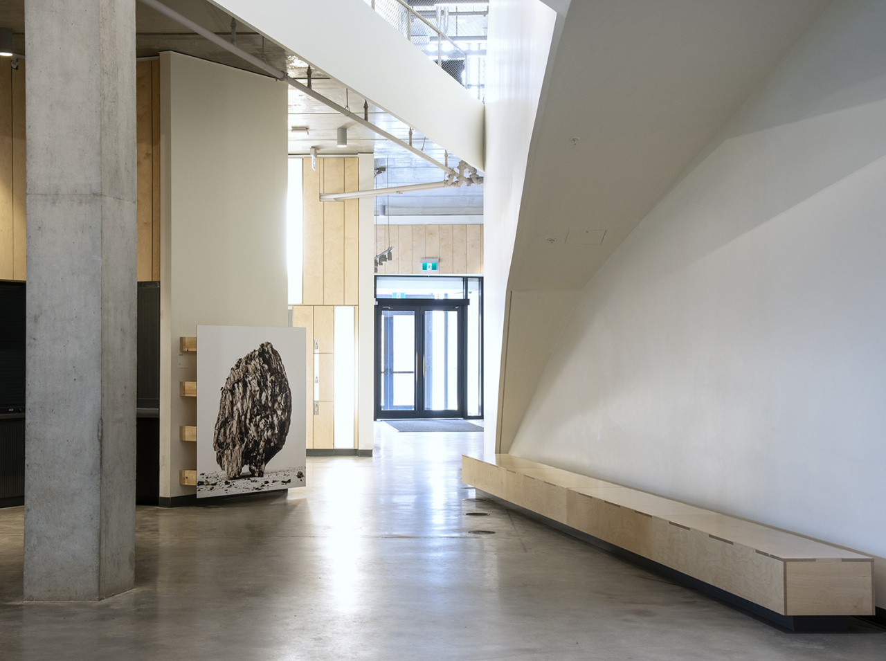 Susan Dobson, Back/Fill, Installation at Daniels Faculty of Architecture, Landscape, and Design, Toronto, 2019. Photo: Susan Dobson. Courtesy CONTACT, the artist.