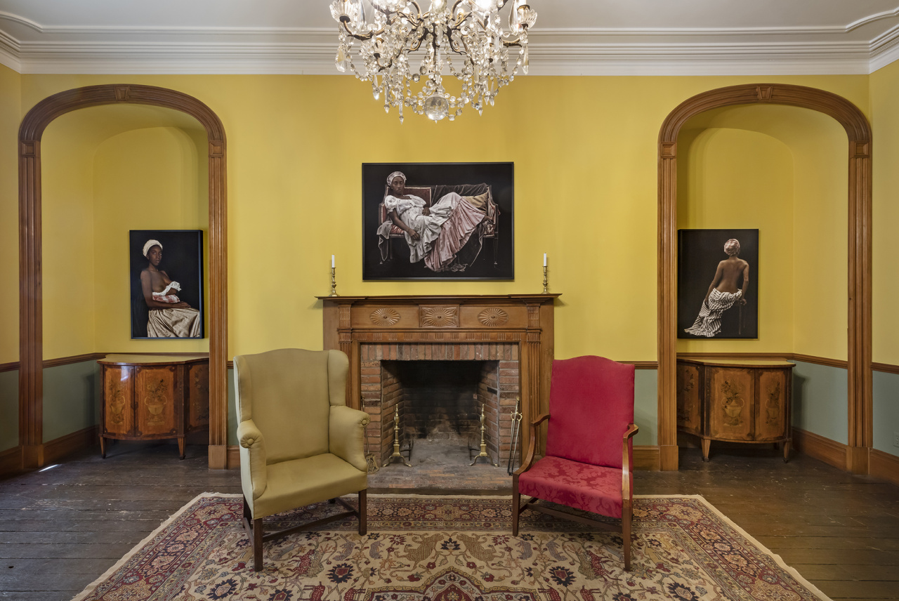 Ayana V. Jackson, Installation view of Fissure, Campbell House Museum, Toronto, May 1 - June 2, 2019. Photo: Toni Hafkenscheid. Courtesy CONTACT, the artist, and Galerie Baudoin Lebon