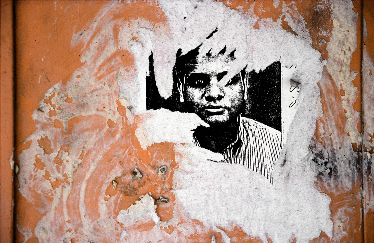 Taysir Batniji, Gaza Walls, 2001. Courtesy the artist and Galerie Sfeir-Semler (Hamburg/Beirut).