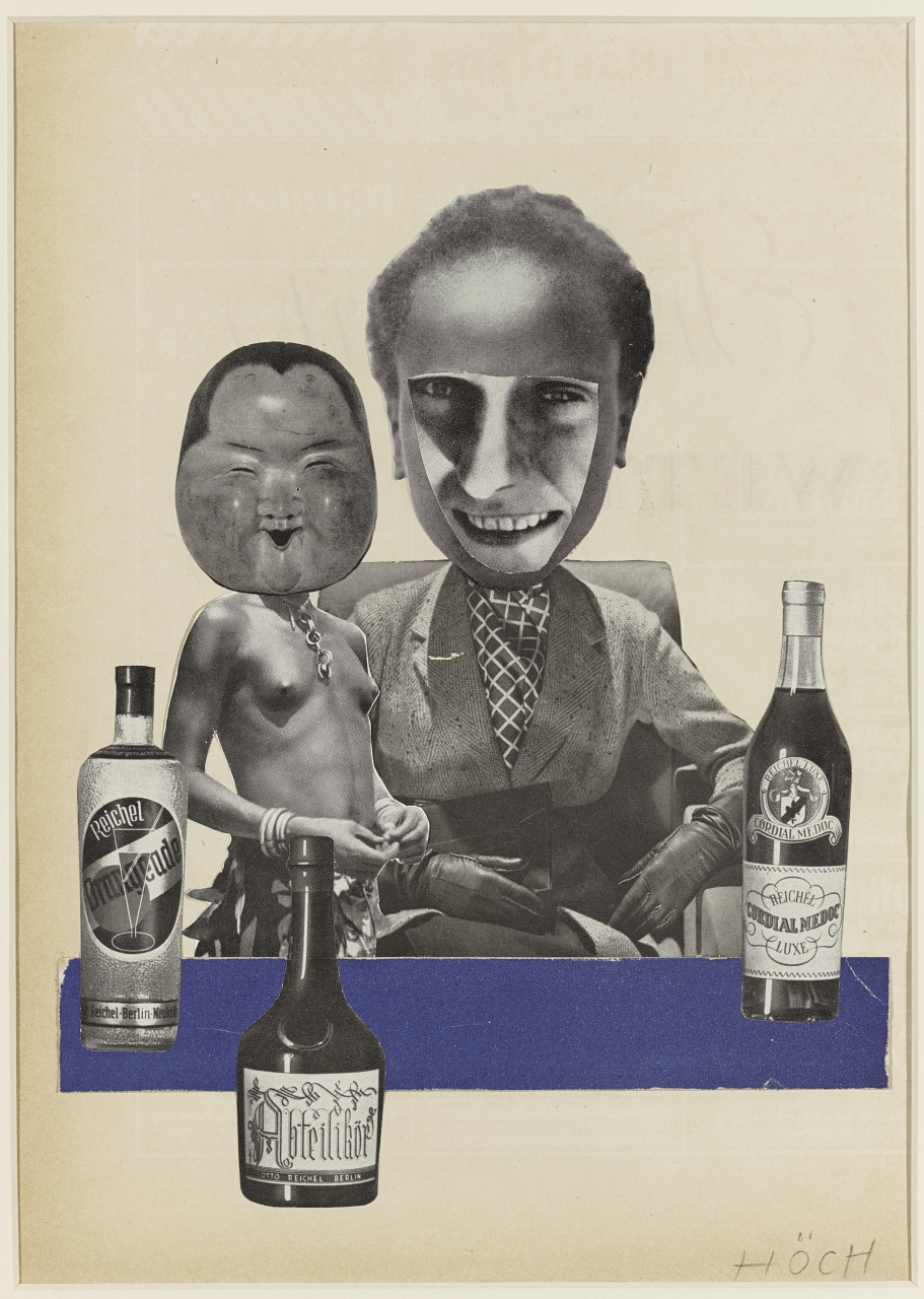 Hannah Höch, Untitled (African Torso with Japanese Mask), 1930. Photomontage, 28 x 20.5 cm. Purchase, 2012. © Estate of Hannah Höch / SOCAN (2019) 2012/4. AGO.110151.d