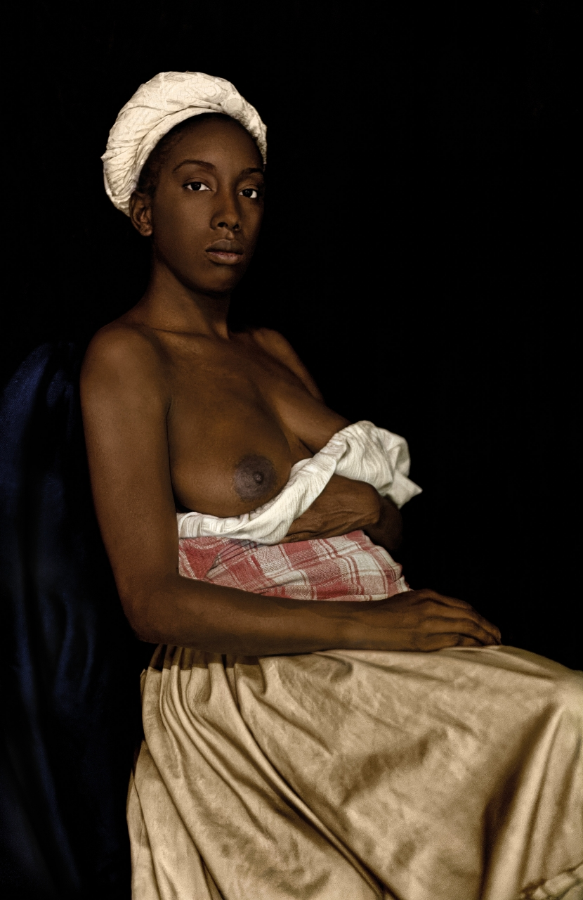 Ayana V. Jackson, Lucy, from the series Intimate Justice in the Stolen Moment, 2017. Courtesy of the artist and Galerie Baudoin Lebon.