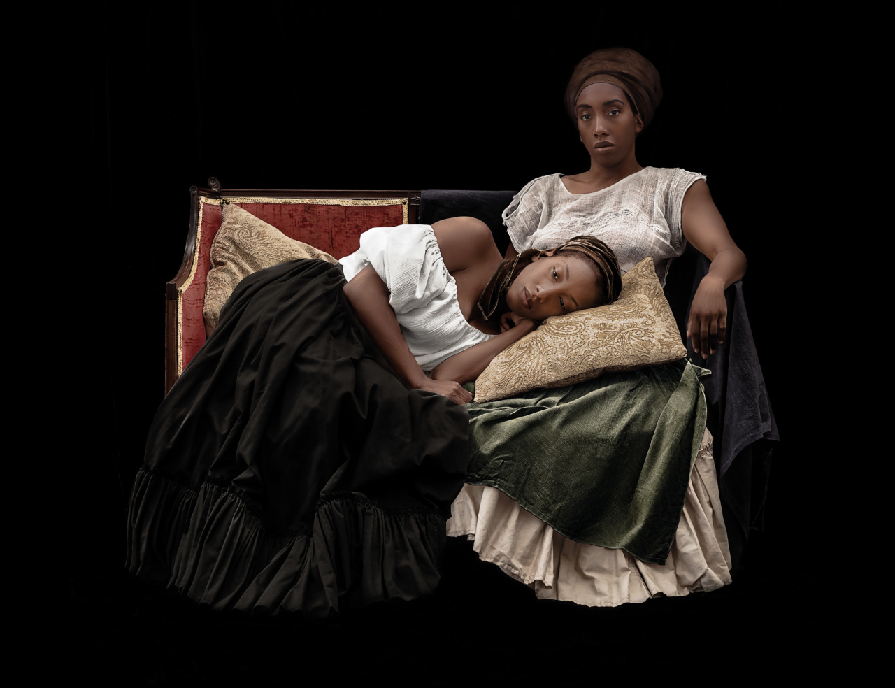 Ayana V. Jackson, Moments of Sweet Reprieve, from the series Intimate Justice in the Stolen Moment, 2017. Courtesy of the artist and Galerie Baudoin Lebon.