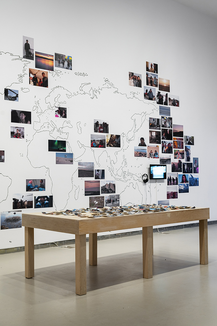 Installation view of Arnait Video Productions, Arnait Ikajurtigiit: Women Helping Each Other, Photo: Yuula Benevolski. Courtesy the artists and AGYU.