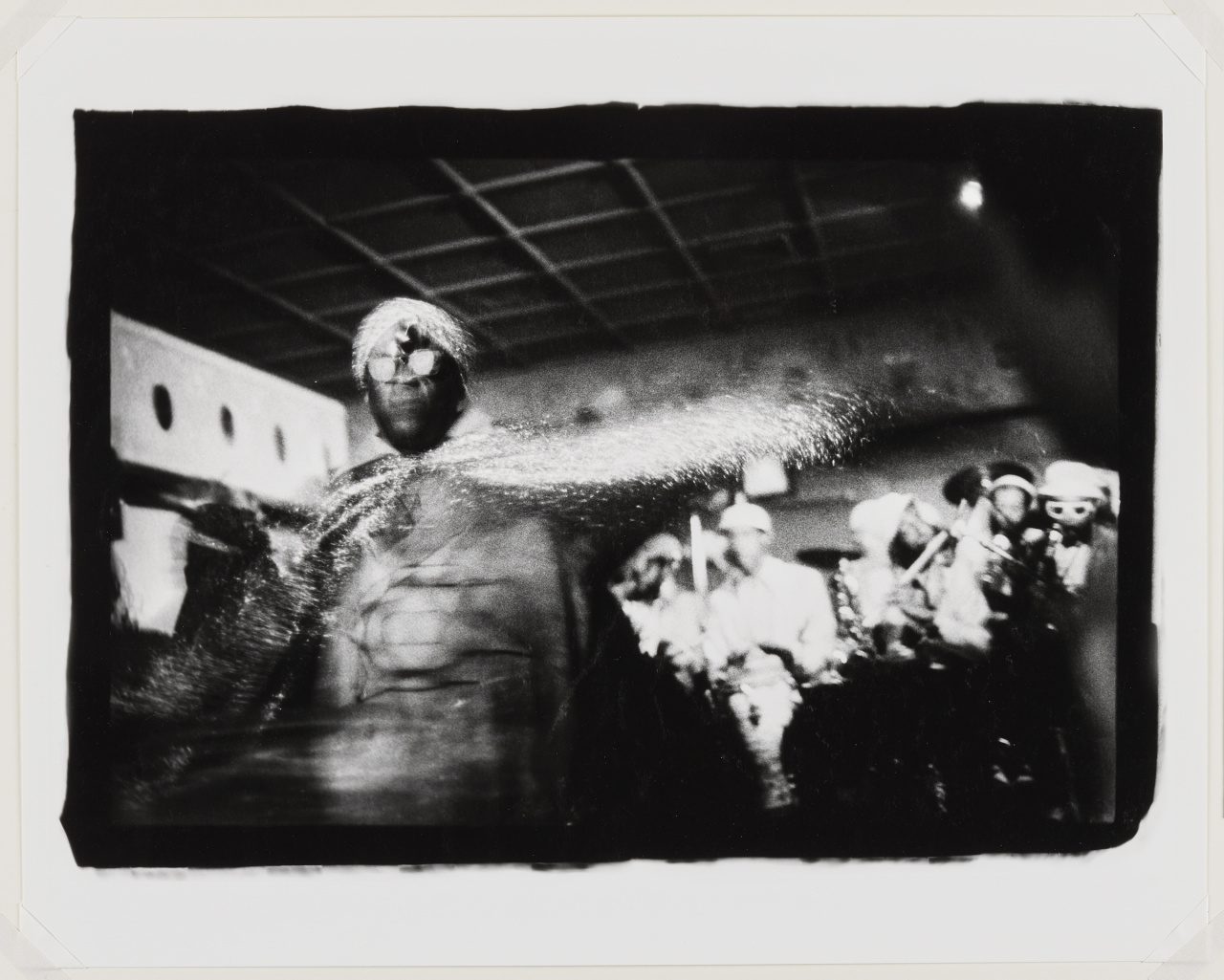 Ming Smith, Sun Ra space II, New York, NY, 1978;  Gelatin silver print, printed 2017.  40.6 × 50.8 cm. Purchase, with funds generously donated by Cindy & Shon Barnett, 2018. © Ming Smith 2018/35