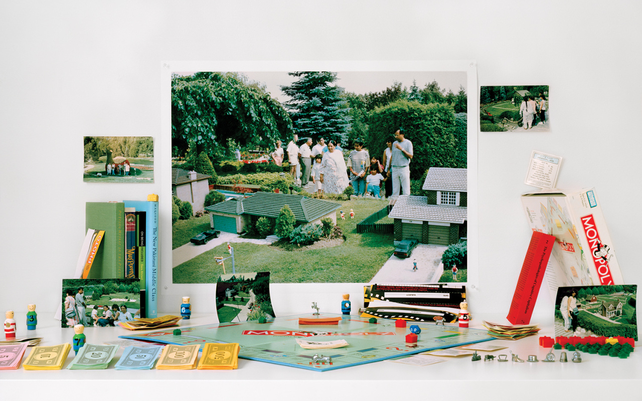 Zinnia Naqvi, Keep Off the Grass - Cullen Gardens and Miniature Village, 1988, 2019. Courtesy of the artist.
