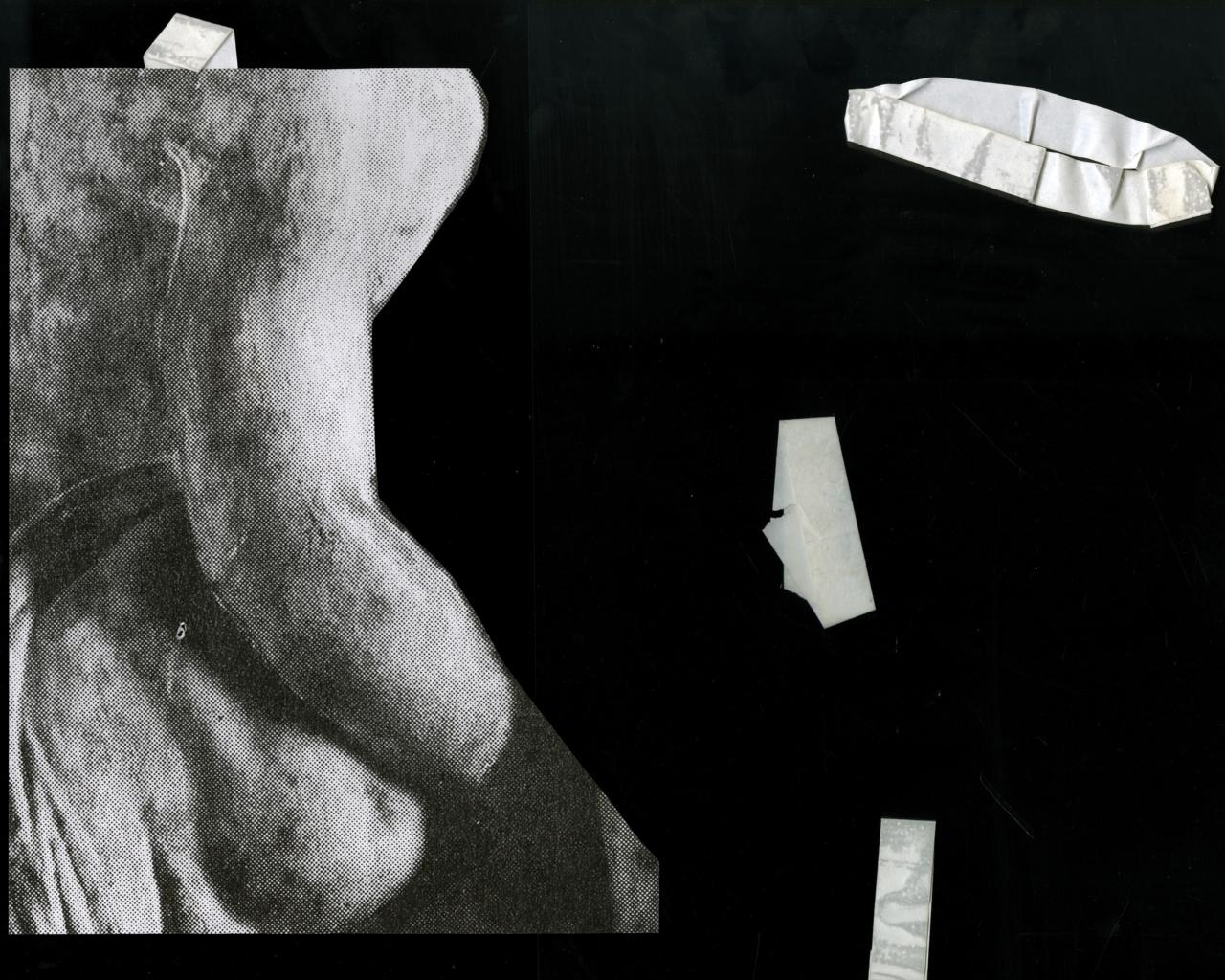 Jackson Klie, Together/ Apart - 1, 2019. Inkjet print.
