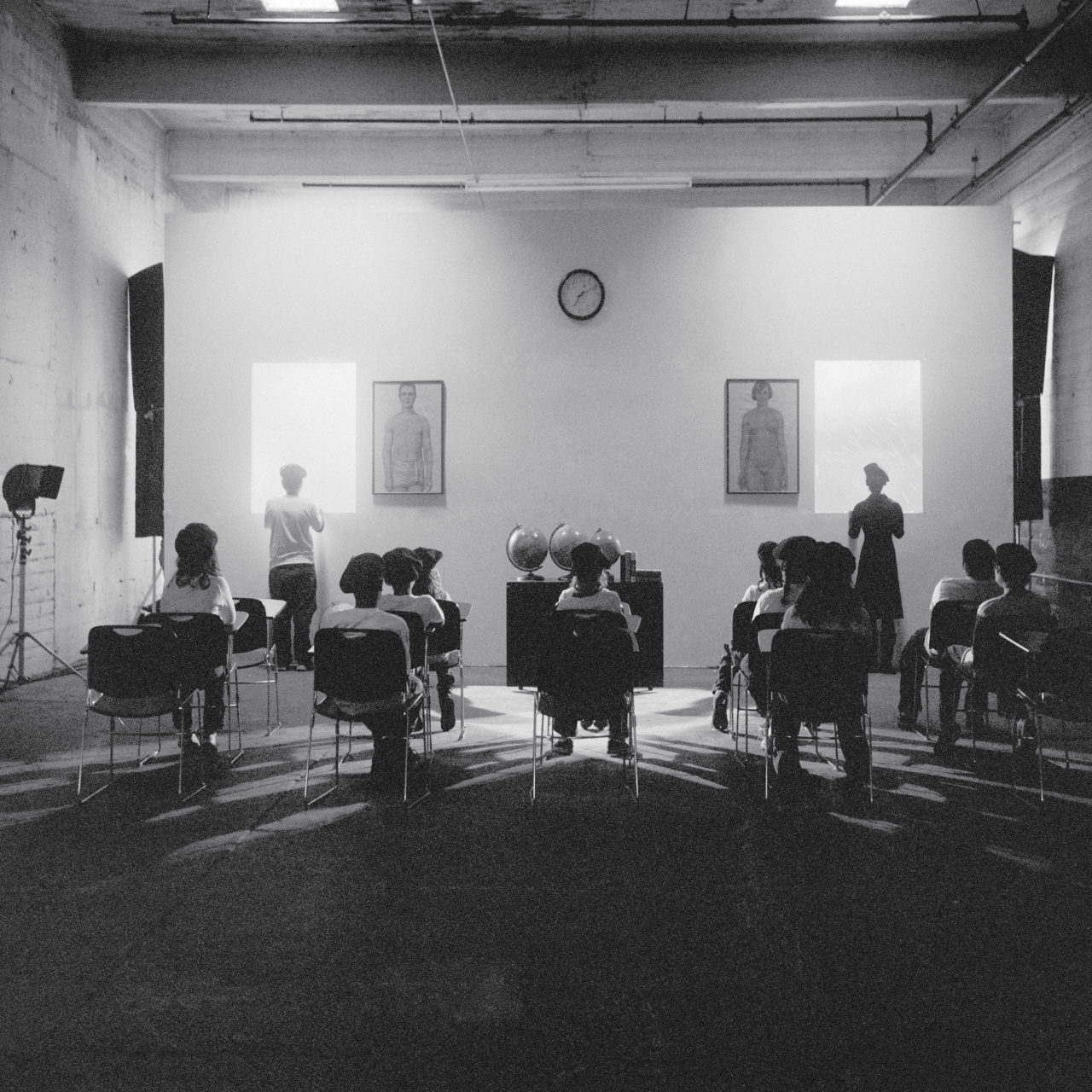 Carrie Mae Weems, A Class Ponders the Future, 2008. Photograph. Courtesy the artist and Jack Shainman Gallery, New York, NY.