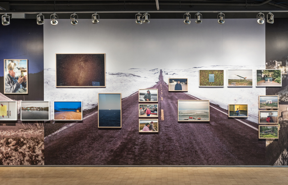 Installation view of Johan Hallberg-Campbell, Coastal, photo by Toni Hafkenscheid.