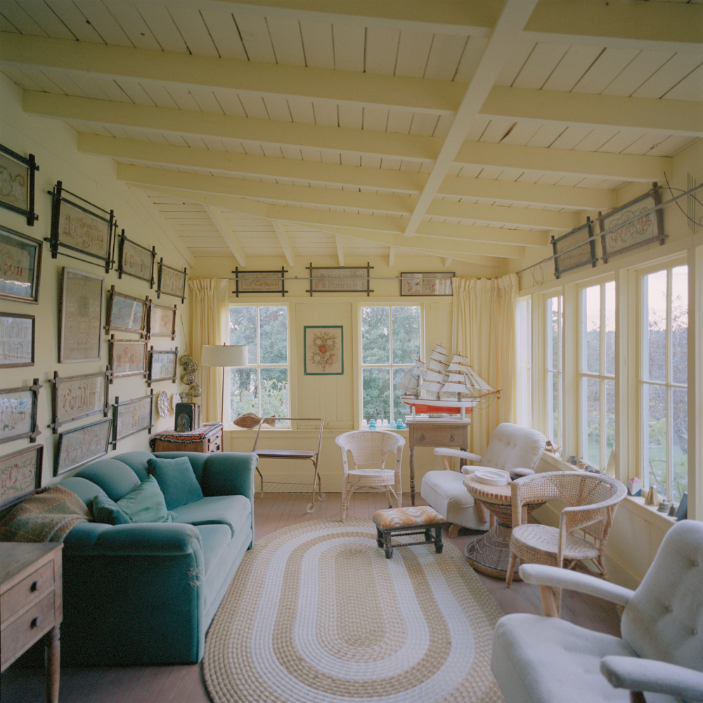 Katherine Knight, Sunporch, from the Caribou Mottos Series, 2006.