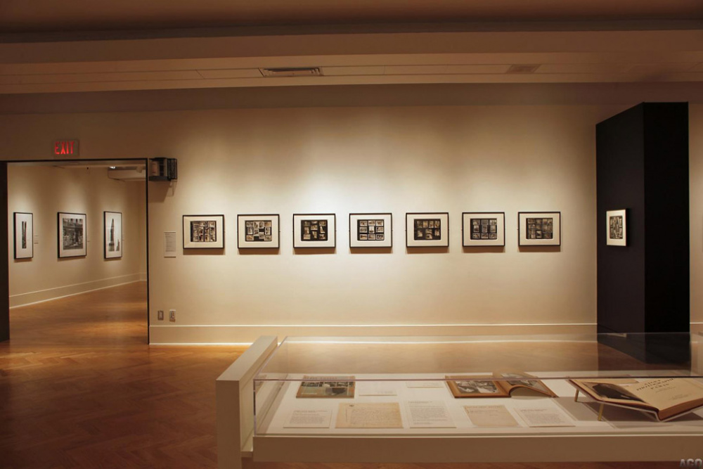 Installation view of Berenice Abbott: Photographs, Art Gallery of Ontario, 2012, ,  © 2012 Art Gallery of Ontario