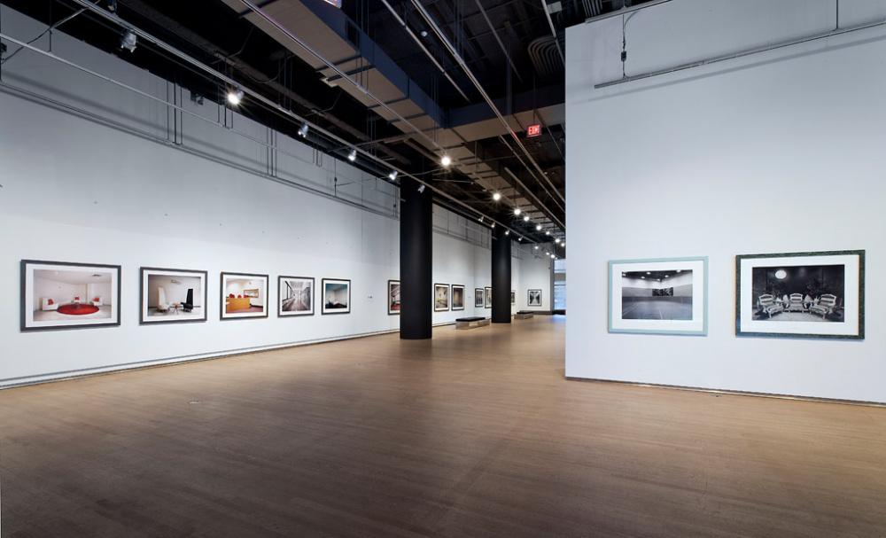 Installation view of Lynne Cohen: Nothing Is Hidden, Design Exchange, 2012, ,  © Toni Hafkenscheid
