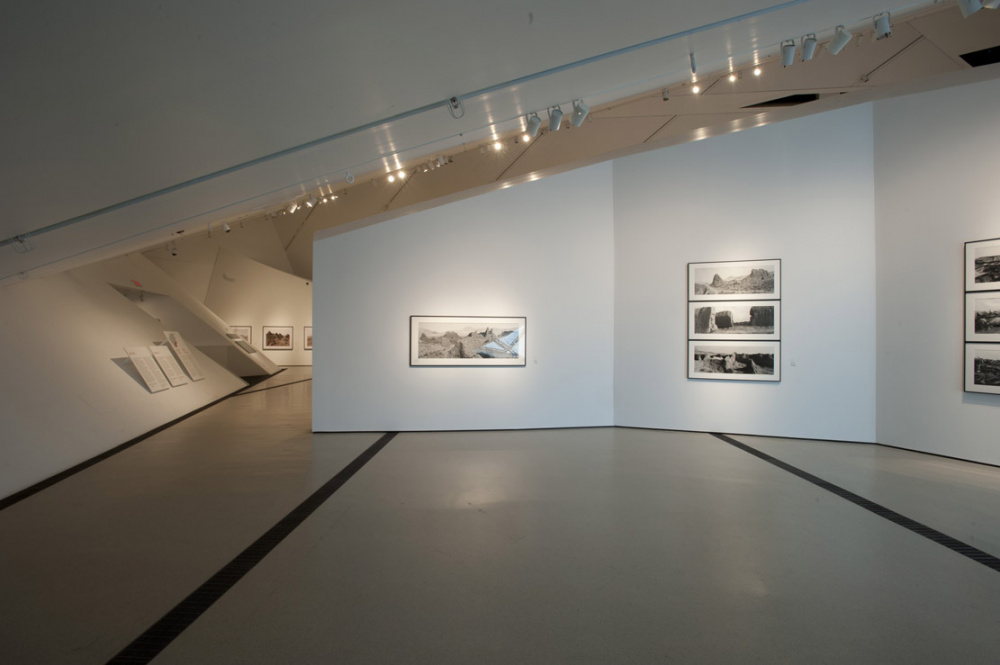 Installation view of Larry Towell, Donovan Wylie: Afghanistan, , Institute for Contemporary Culture, Royal Ontario Museum, 2012 Photo by Brian Boyle, courtesy of the ROM. All rights reserved.