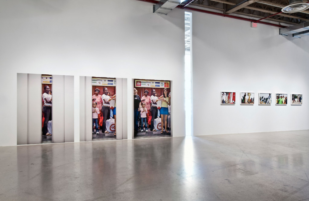 Installation view of Public: Collective Identity | Occupied Spaces, Museum of Contemporary Canadian Art, 2012, ,  © Toni Hafkenscheid