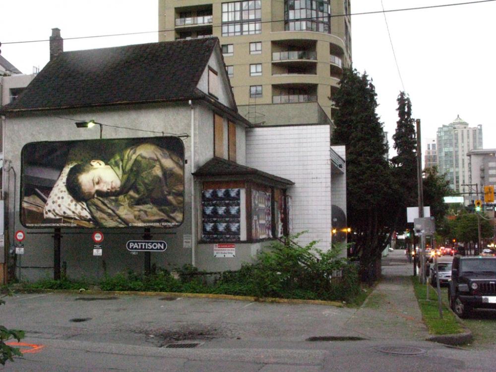 Tim Hetherington, Sleeping Soldiers, 2012 in Vancouver, BC. Image credit Jamie Bennett