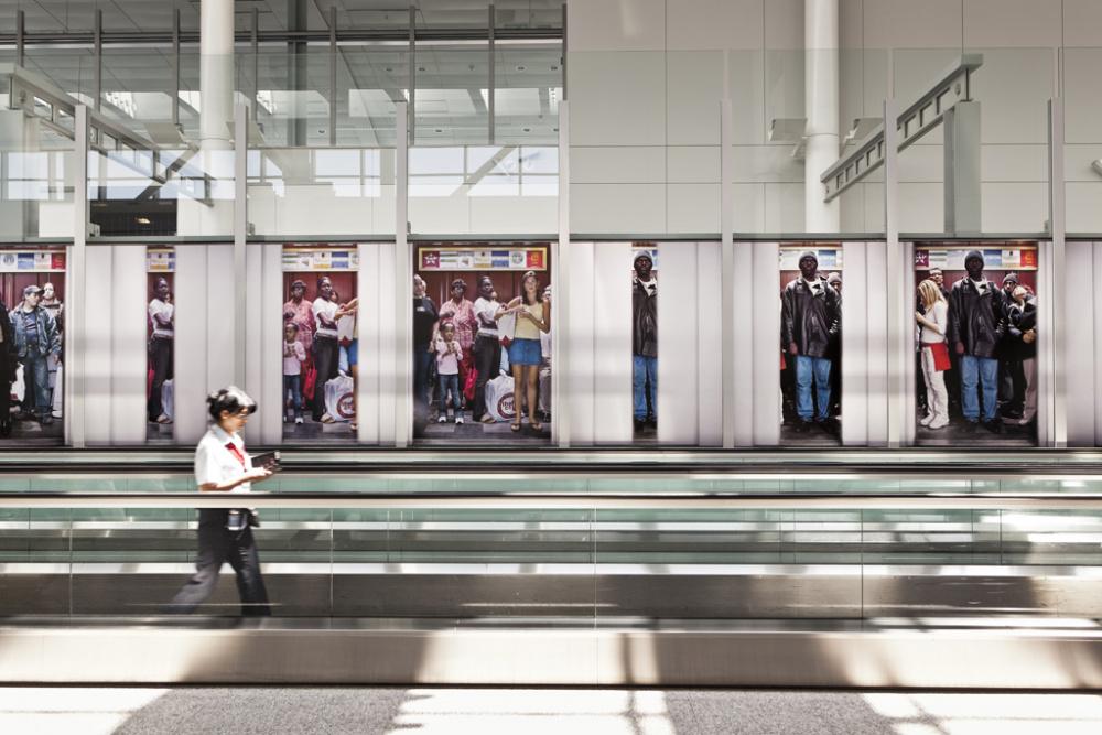 Bill Sullivan, Stop Down (The Elevator Pictures), 2012 Image credit Toni Hafkenscheid