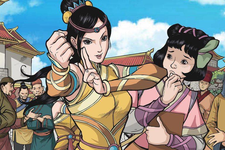Shuyan kung fu stand