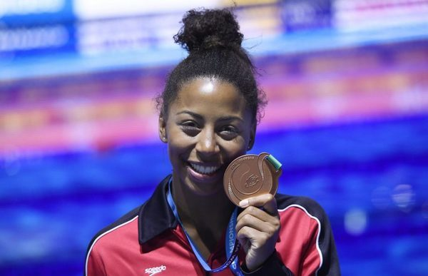 Jennifer Abel wins bronze in three-metre springboard | The ...  Jennifer Abel