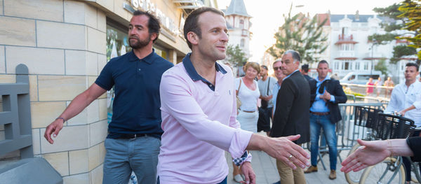 Brigitte And Emmanuel Macron This Summer They Will Enjoy The Lantern Gala The Siver Times