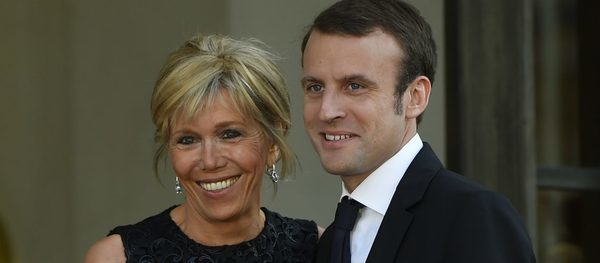 Emmanuel and Bridget Macron have celebrated their 10 years ...