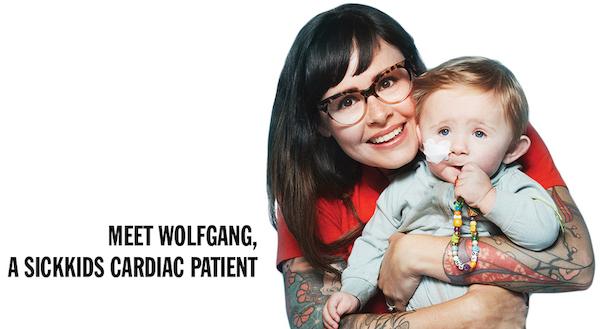 MEET WOLFGANG, A SICKKIDS PATIENT.