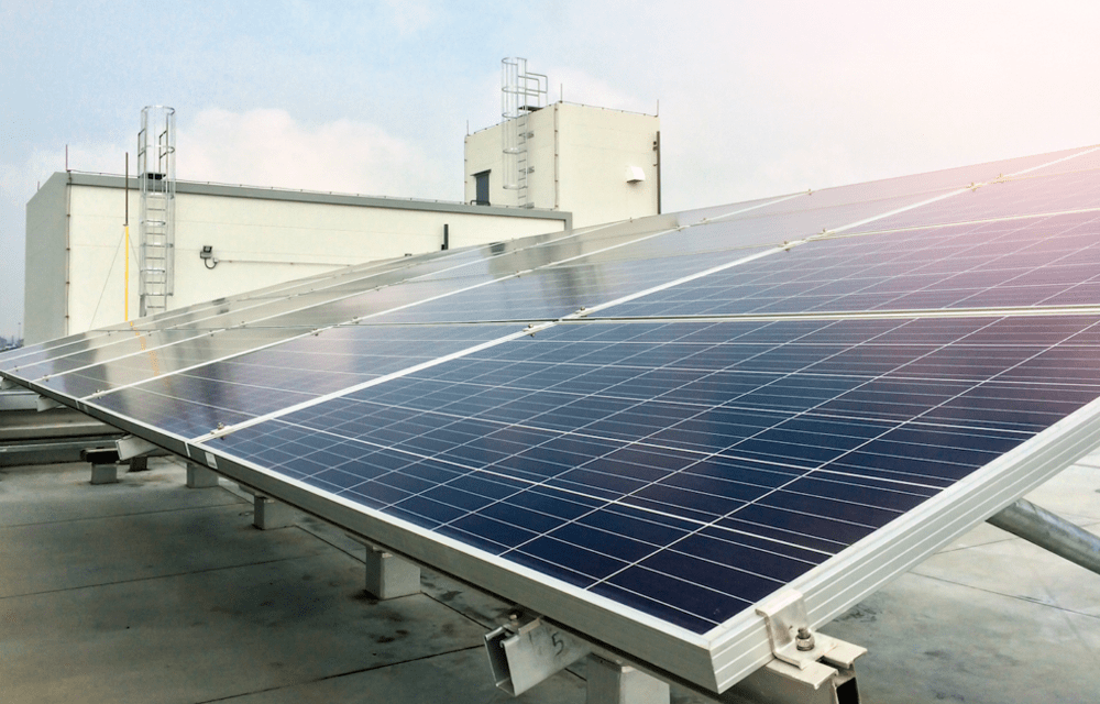 Instalación de Paneles Solares | losa plana o azoteas