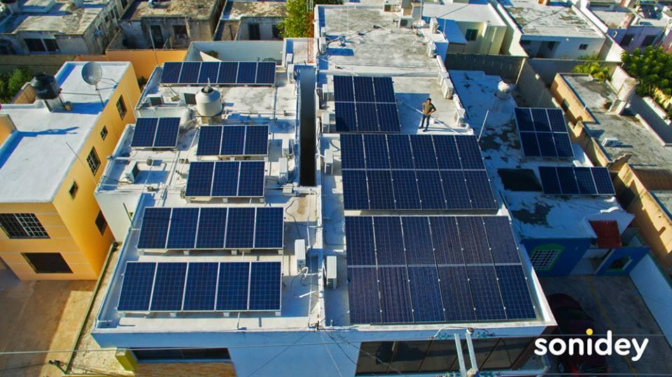empresa de paneles solares sonidey