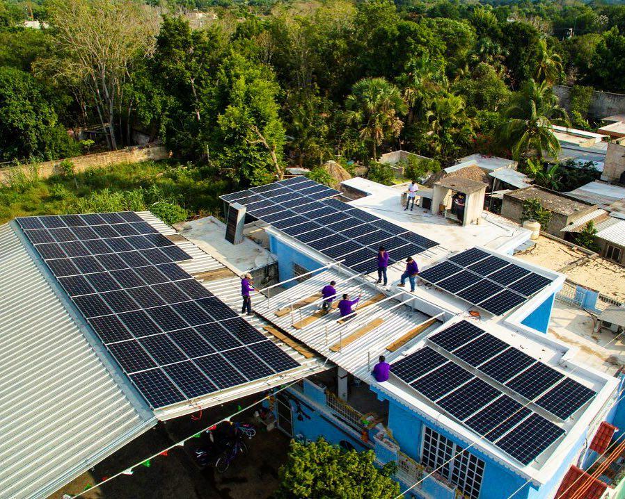instalacion paneles solares cuadrilla