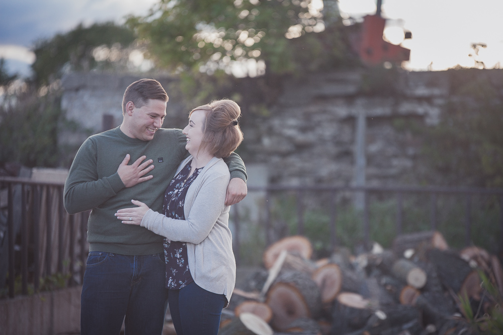 Meaford engagement photographer
