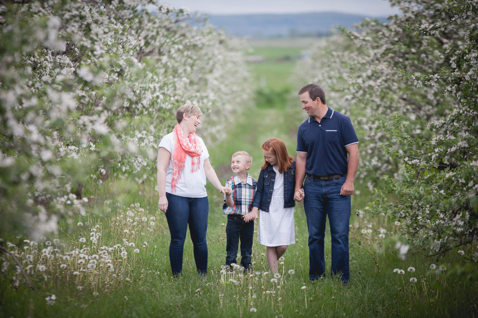 Family photograph from Blue Mountain, Ontario