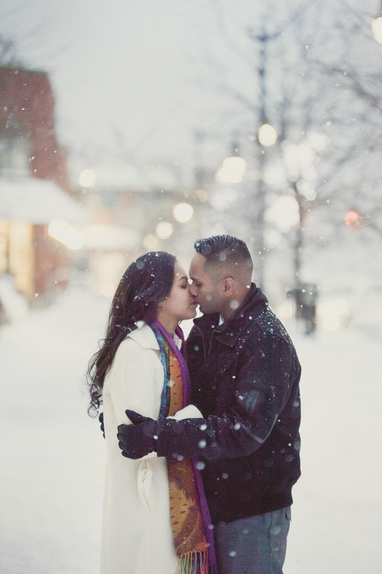 winter surprise proposal